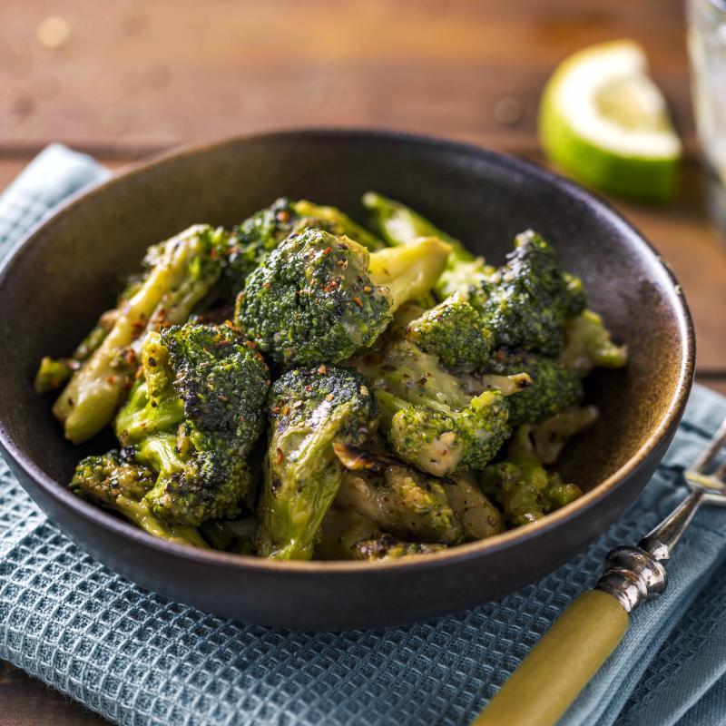 Broccoli la Gratar cu Parmezan