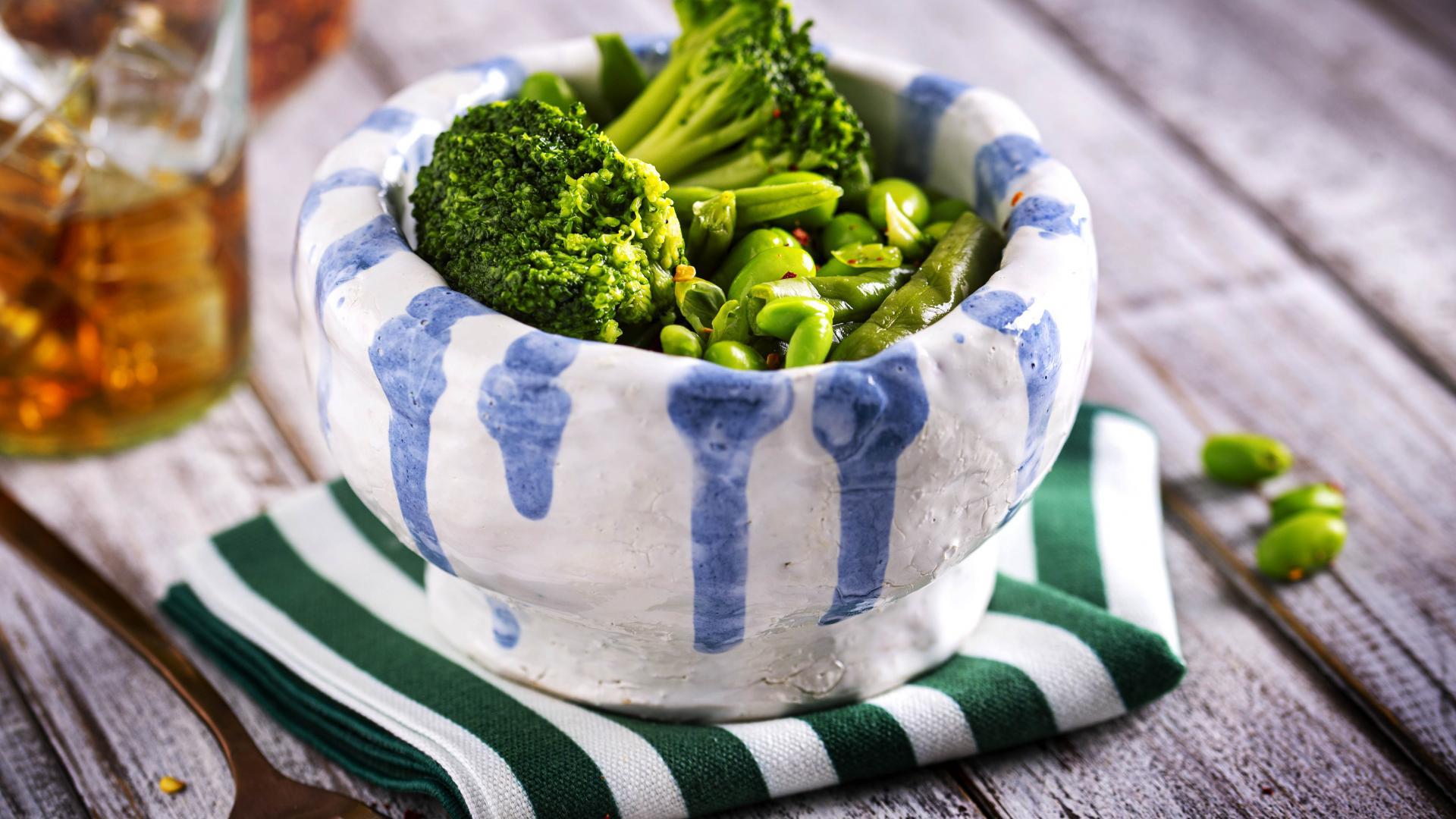 Mix de Legume Verzi cu Broccoli, Edamame si Fasole Verde 1