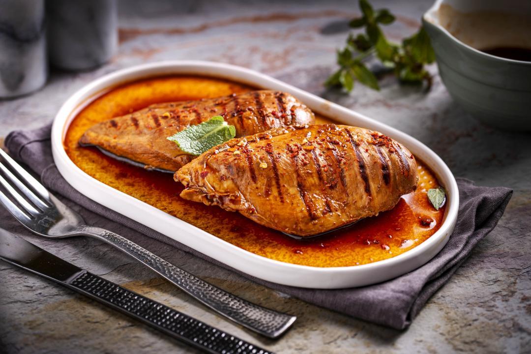 Piept de Pui cu Curry Thai