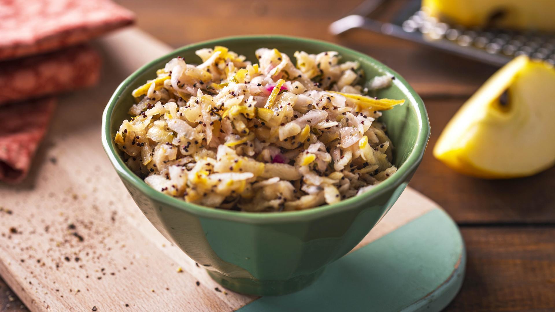 Salata de Mar si Telina cu Seminte de Mac 1