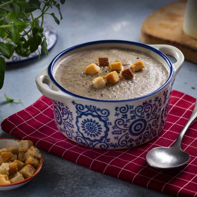 Supa Crema de Ciuperci aromatizata cu Trufe