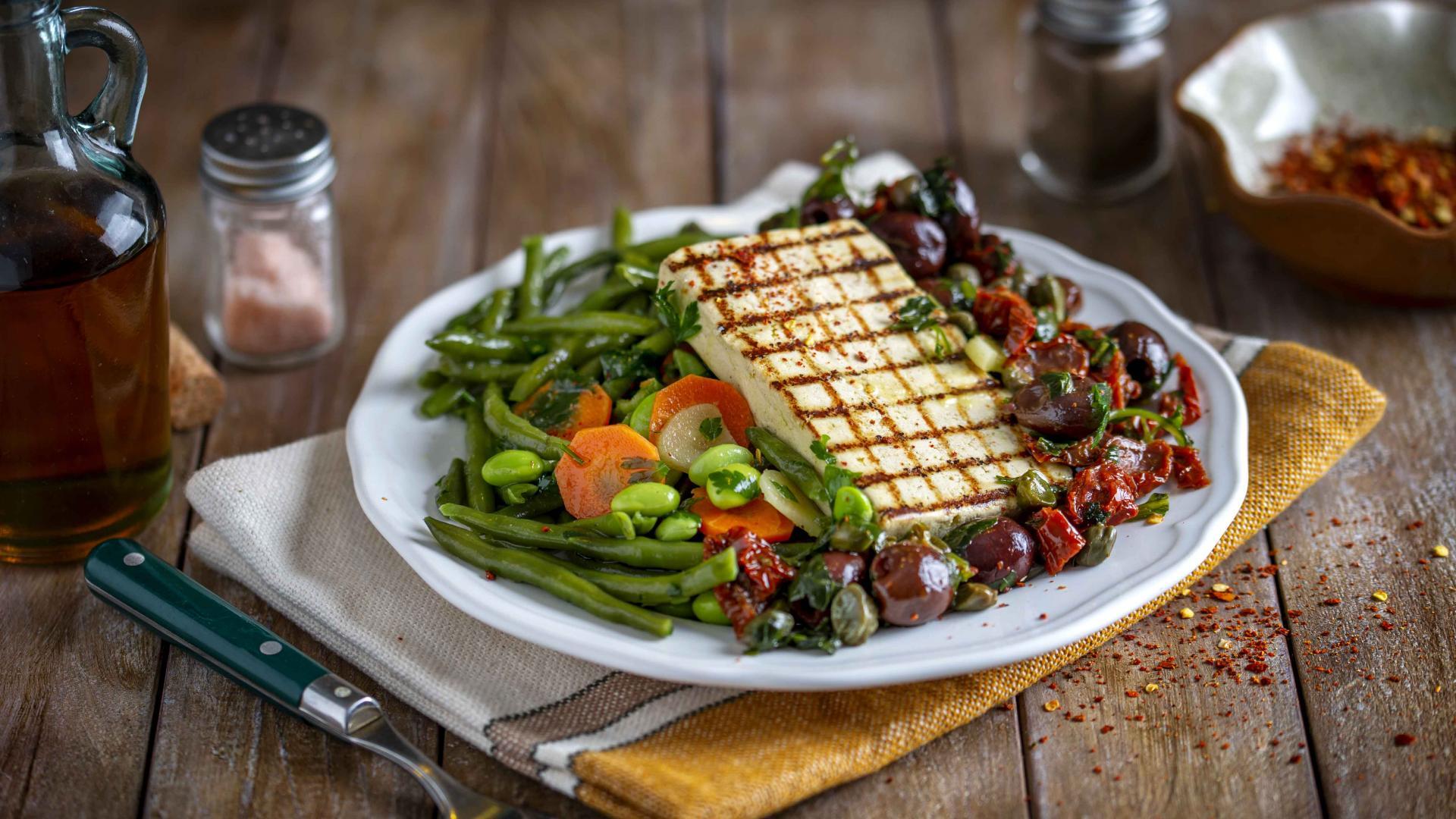 Tofu Mediteranean cu Veggie Mix 1