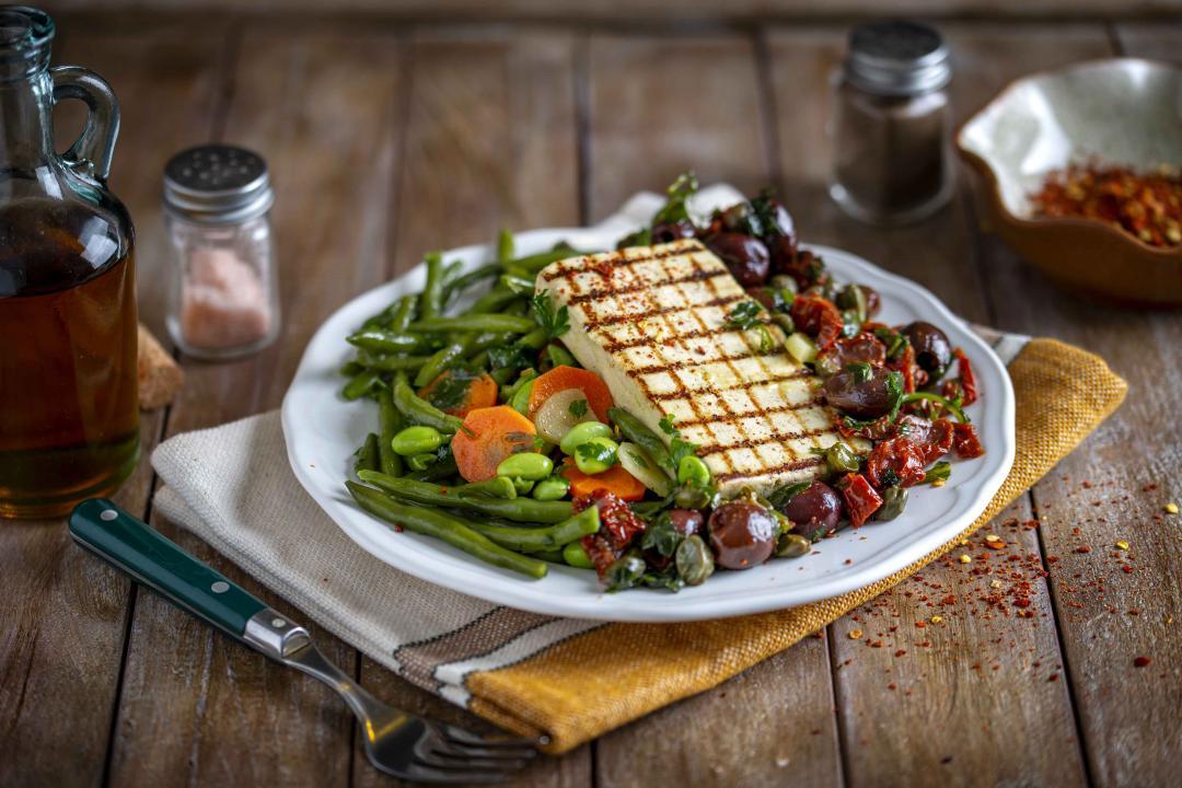 Tofu Mediteranean cu Veggie Mix