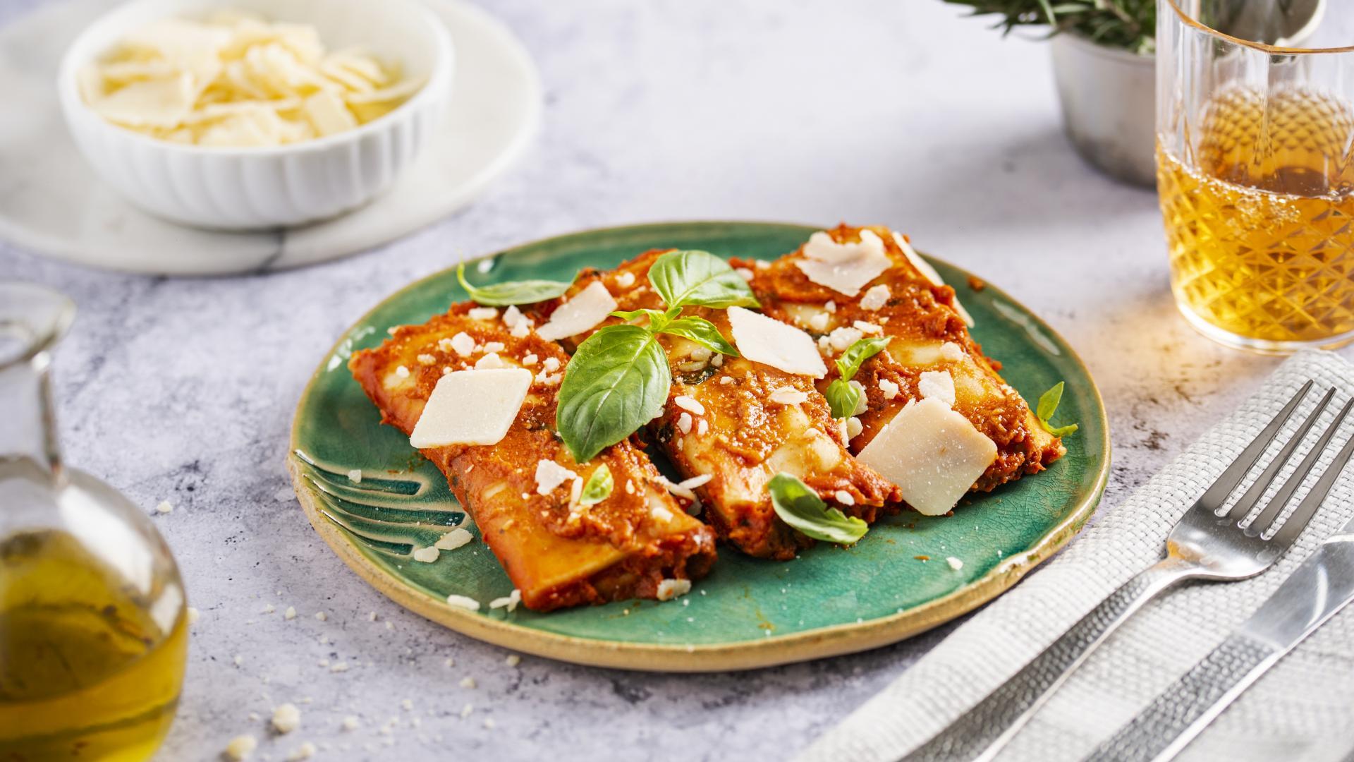 Cannelloni umpluti cu Ricotta si Spanac 1