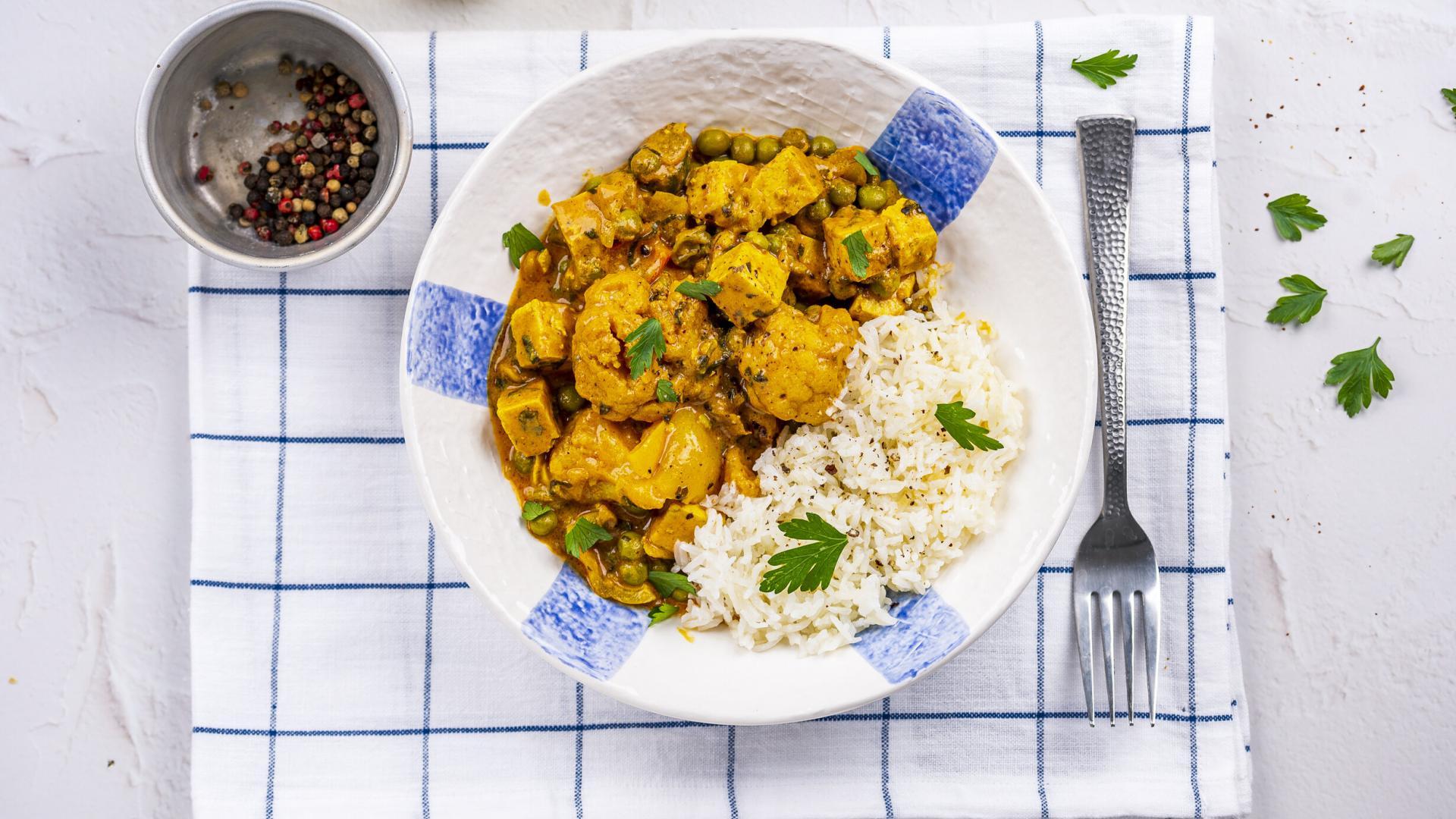 Tofu Tikka Masala & Orez Jasmin 2